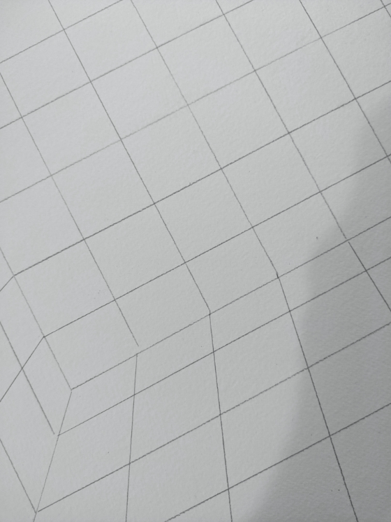 This drawing is of space